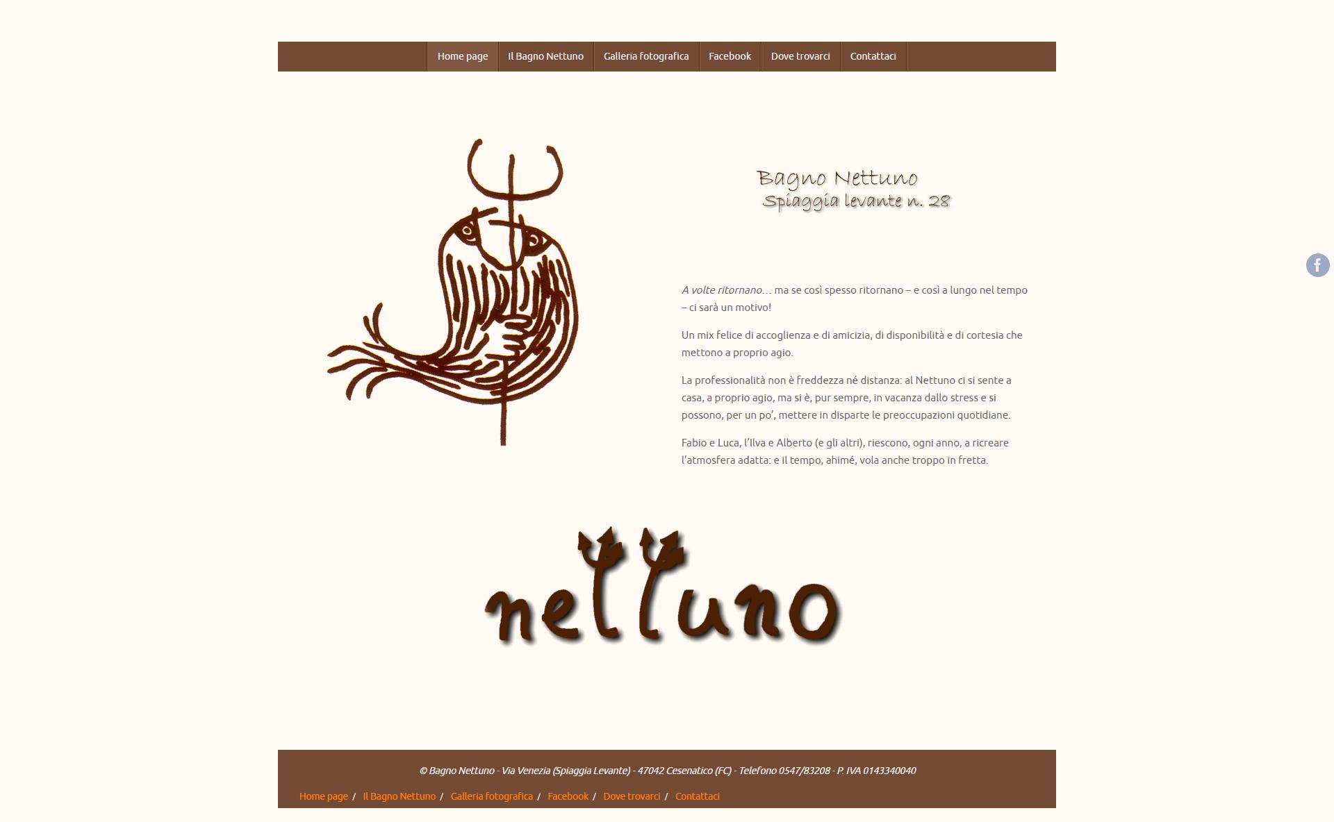 Bagno Nettuno - Home Page